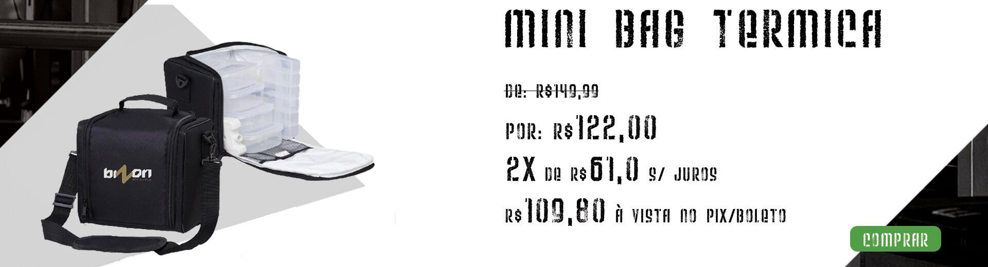 Mini Bag Térmica Fitness