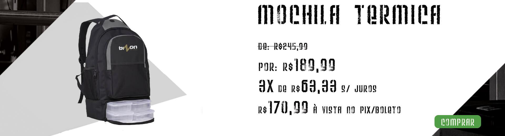 Mochila Térmica Fitness